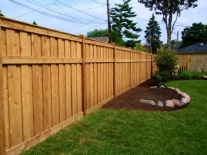 Wooden Privacy Fence built in Virginia Beach, Virginia